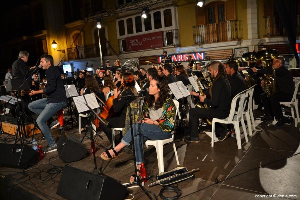 Bandatòrium Dénia 2017 – Andreu Valor y la banda de Dénia