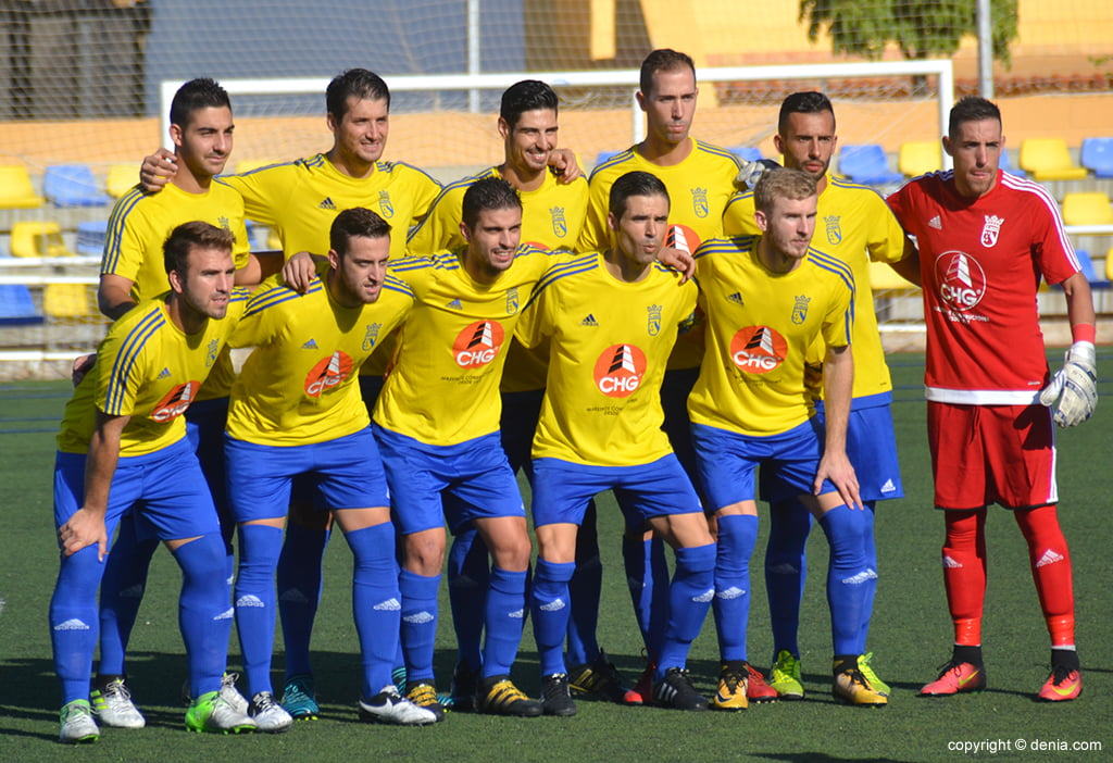 Eleven of CD Dénia to CF Tous