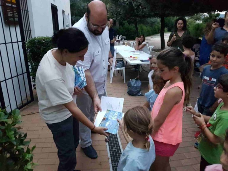 Participants in World Bird Day activities in Dénia