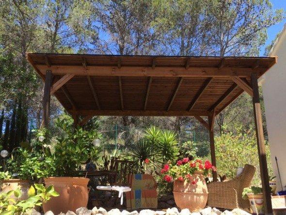 Bricomaderwood te ofrece las mejores p rgolas para - Pergolas de jardin carrefour ...