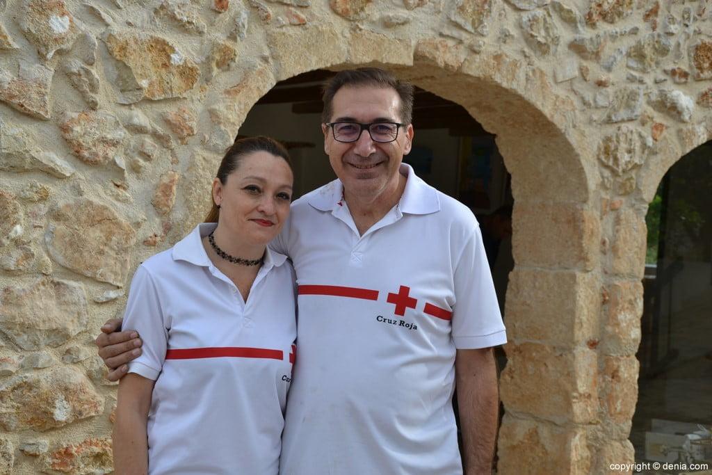 Presidentes de Cruz Roja Dénia y Xàbia