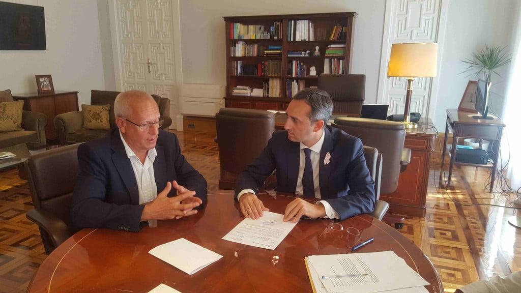 Vicent Grimalt y César Sánchez