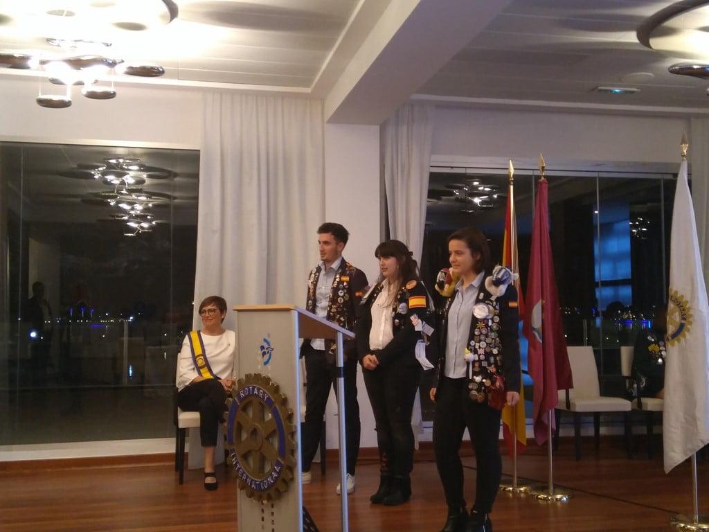 Acto del Club Rotary en Dénia