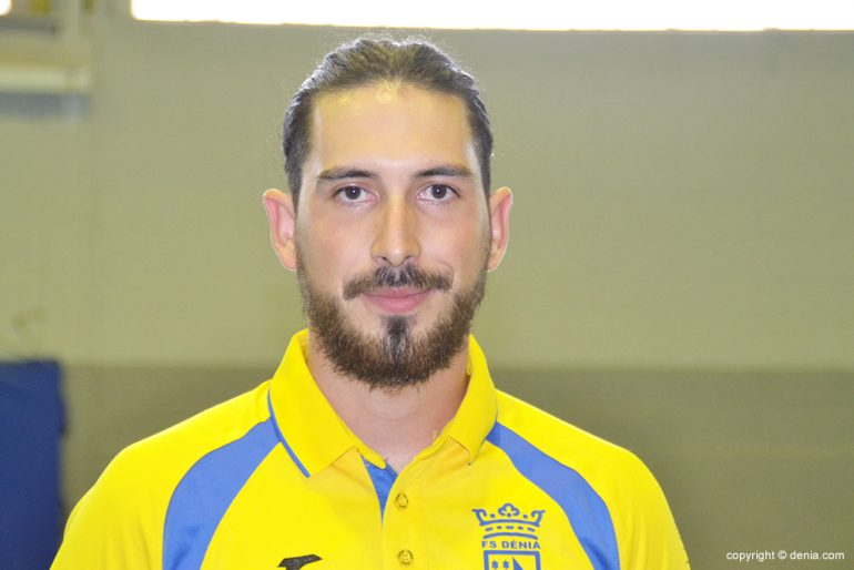 Luis Llinares in the ranks of Dénia Futsal