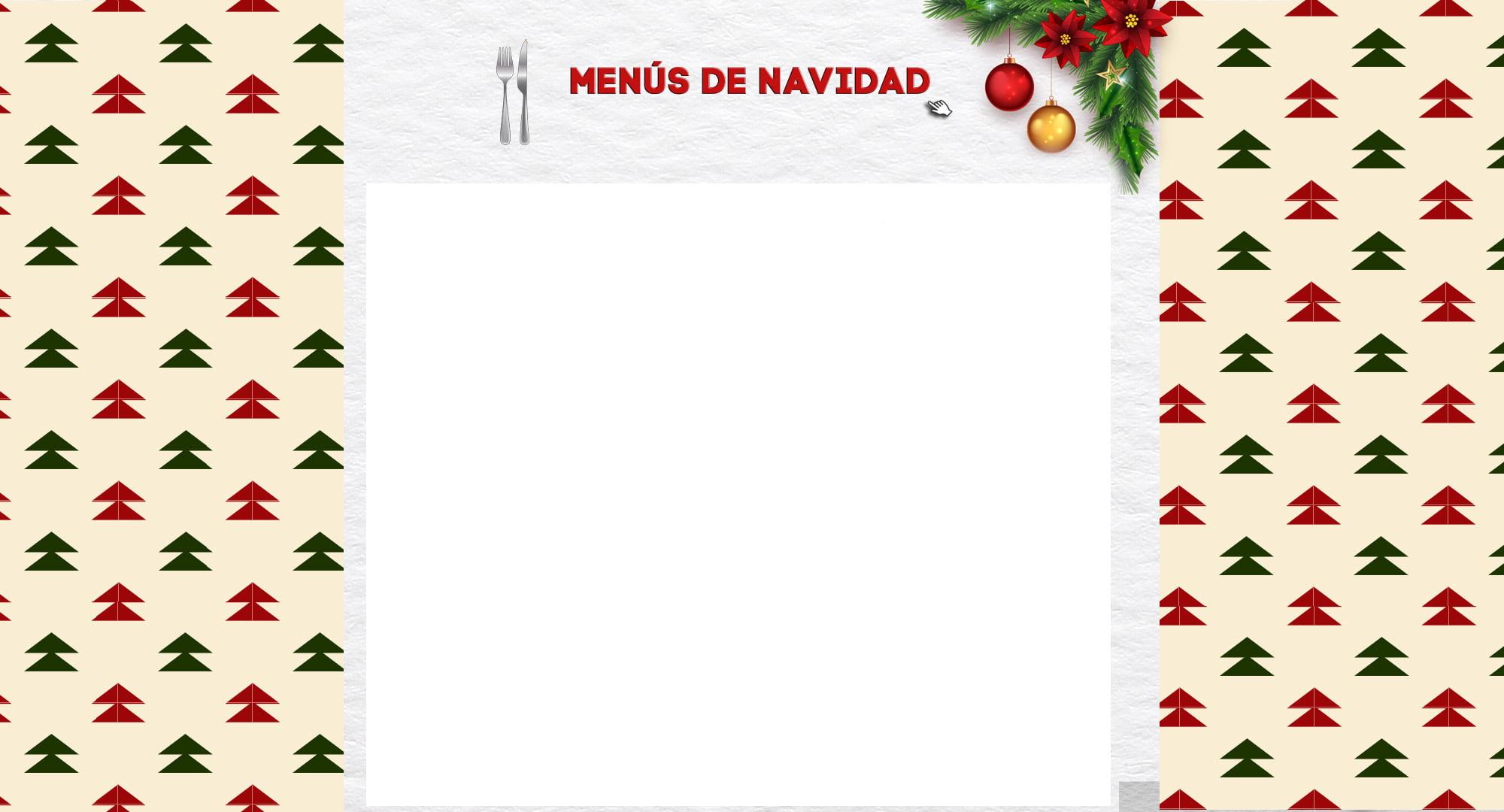Weihnachts-Haut-Menü - Dénia.com