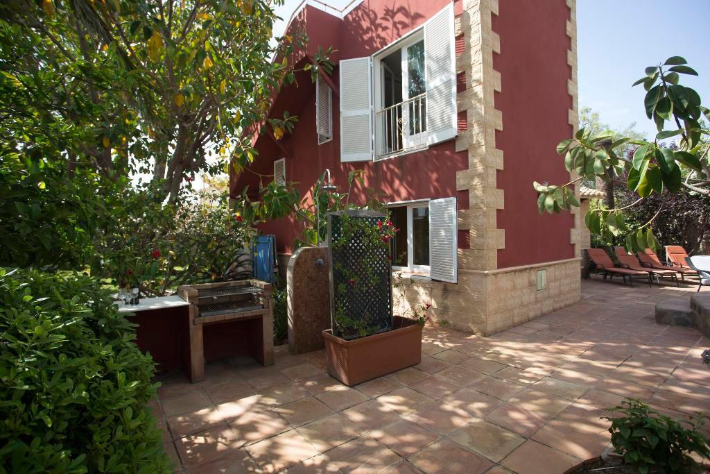 Terrassa de la casa Aguila Ren a Vila