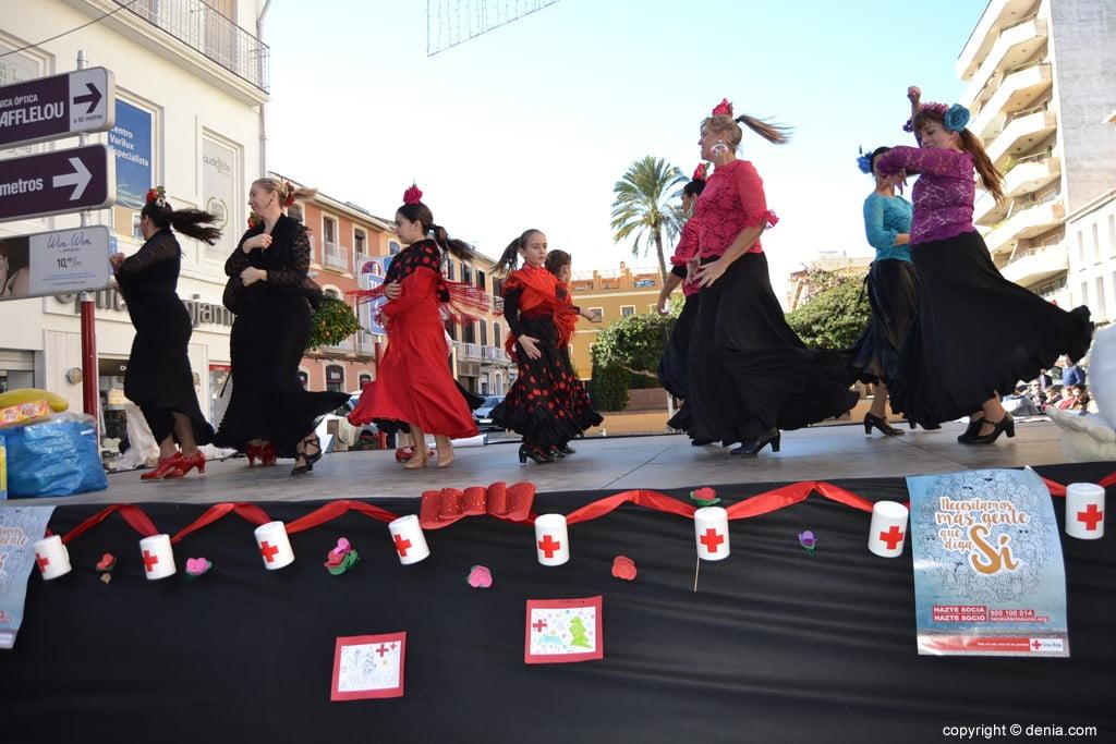 Day of the Dénia 2017 Flag - Dances