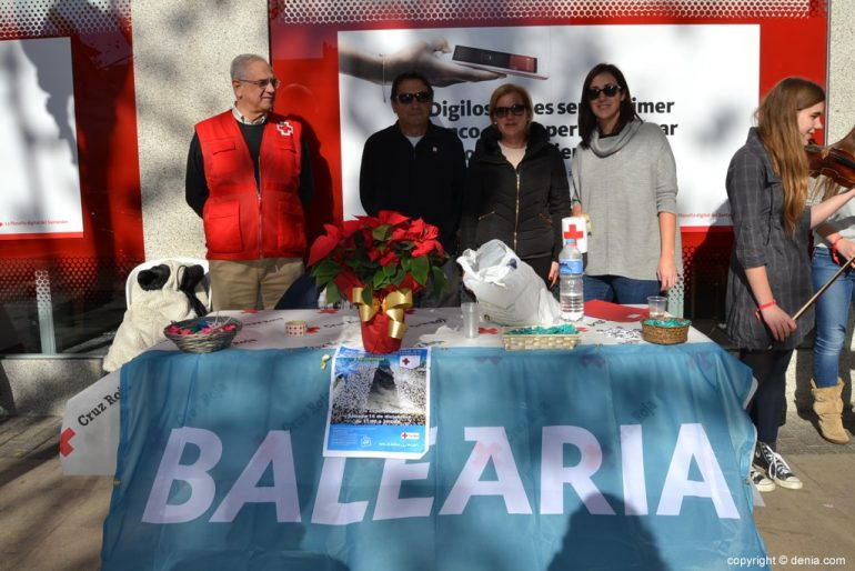 Banderita Dénia Day 2017 - Mesa de Baleària