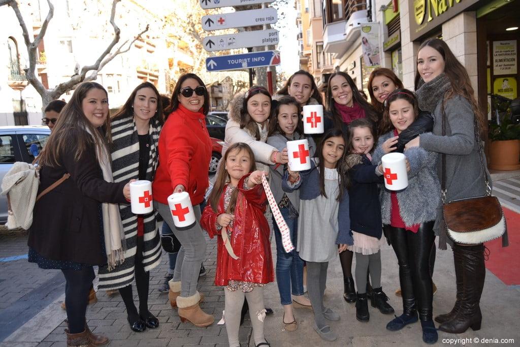 Día de la Banderita Dénia 2017 - Local Board Fallera Dénia
