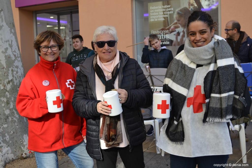 Día de la Banderita Dénia 2017 - Volunteers of Matria