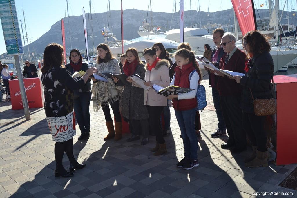 Día de la Banderita Dénia 2017 - Christmas Carols in Baleària