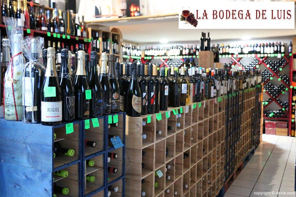 La bodega de luis te acompa a en estas navidades con sus - Bodegas de vino en valencia ...
