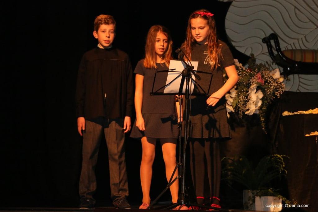 Presentació infantil falla Centre 2018 - Cantants