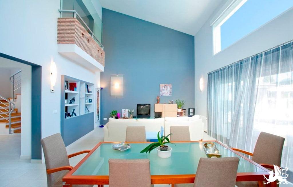 Ampio soggiorno e sala da pranzo Stirling Ackroyd in Spagna