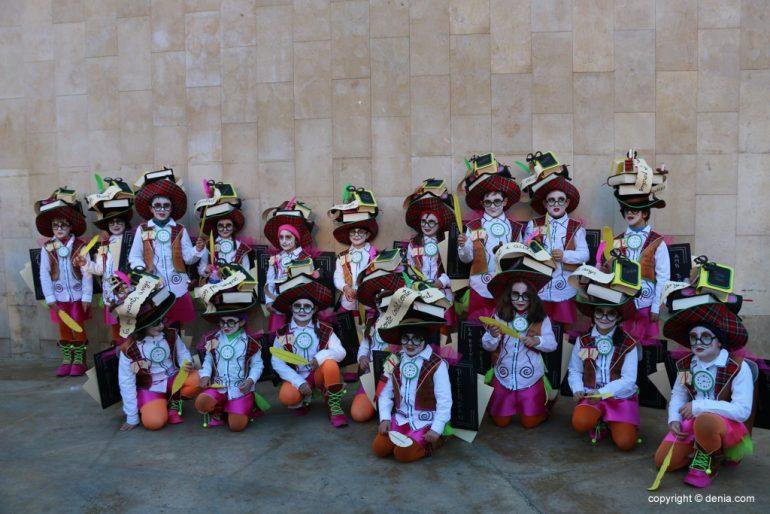 Carnaval infantil Dénia 2018 - Comparsa cuentacuentos