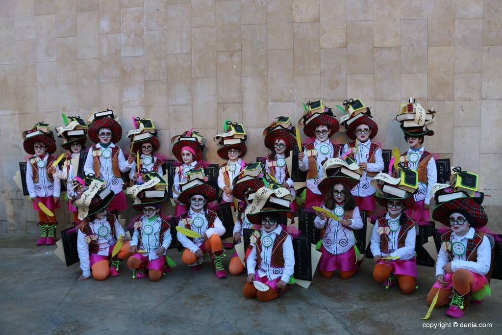 Carnaval infantil Dénia 2018 – Comparsa cuentacuentos