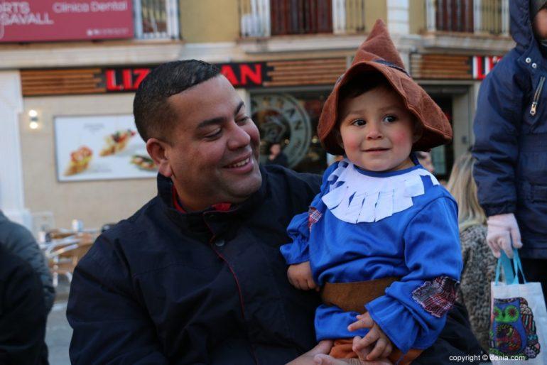 Carnaval infantil Dénia 2018 - Bebé gnomo