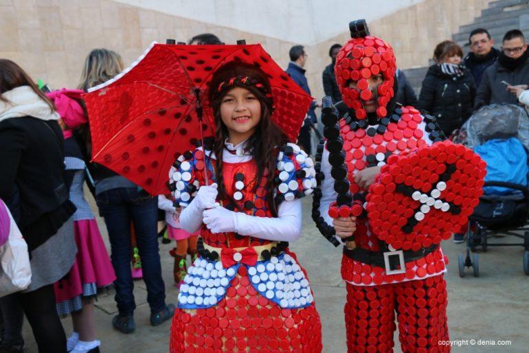 Carnaval infantil Dénia 2018 - Dama y Caballero