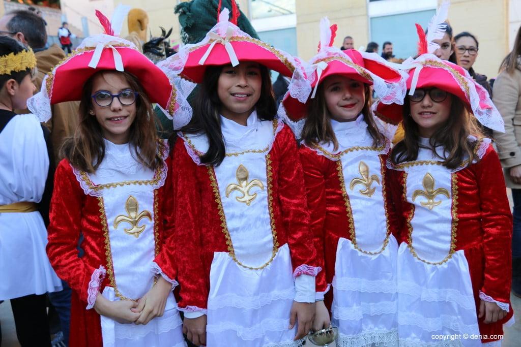 Carnaval infantil Dénia 2018 – Mosqueteras