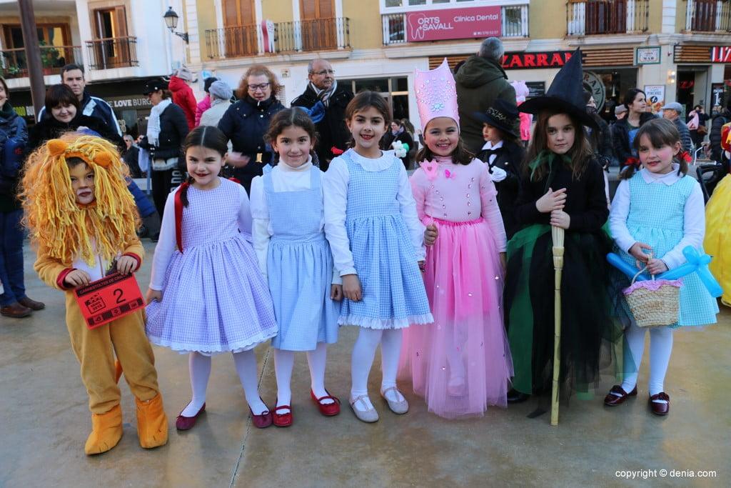Carnaval infantil Dénia 2018 – El Mago de Oz