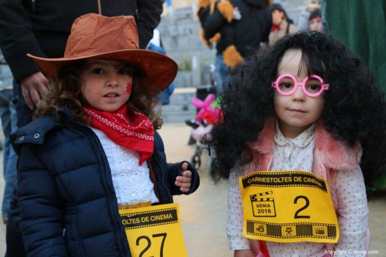 Carnaval infantil Dénia 2018 - Amigas