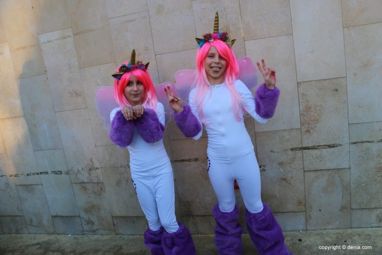Carnaval infantil Dénia 2018 - Unicornios