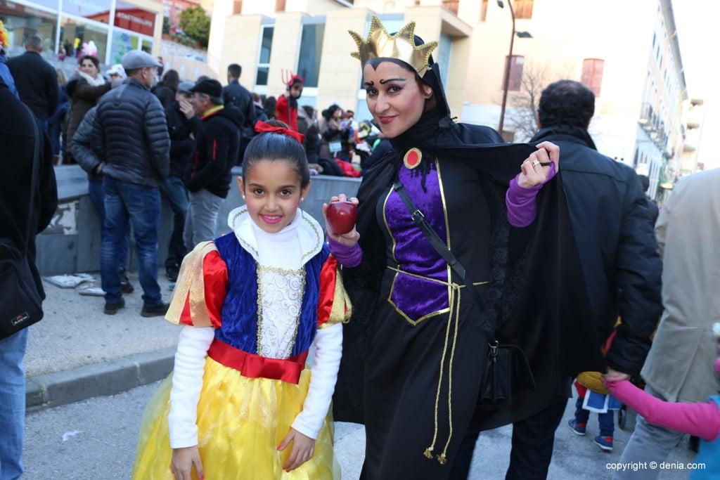 Carnaval infantil Dénia 2018 – Blancanieves y la bruja
