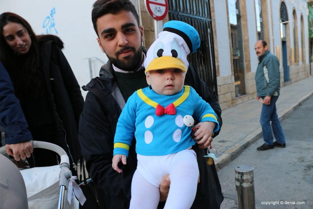 Carnaval infantil Dénia 2018 – Pato Donald