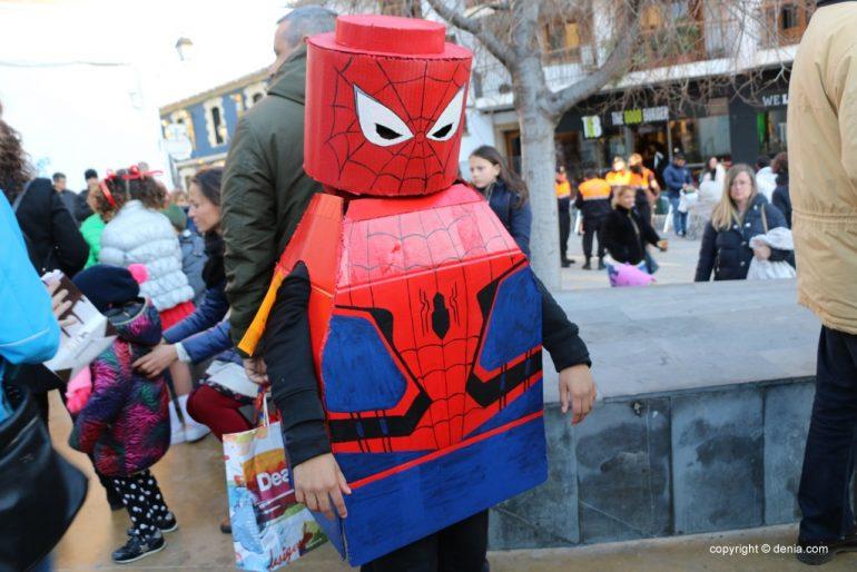 Carnaval infantil Dénia 2018 - Spiderman Lego