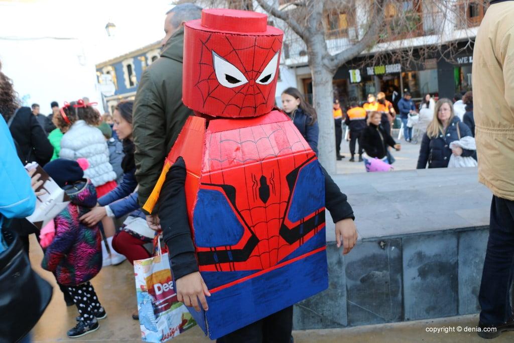 Carnaval infantil Dénia 2018 – Spiderman Lego