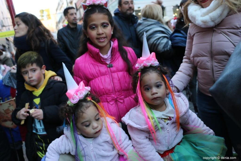 Carnaval infantil Dénia 2018 – Unicornios