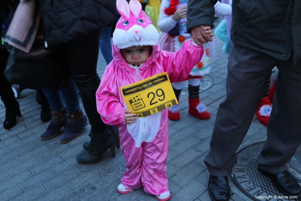Carnaval infantil Dénia 2018 – Conejita