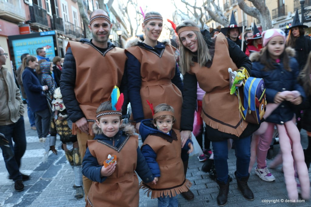 Carnaval infantil Dénia 2018 – INdios