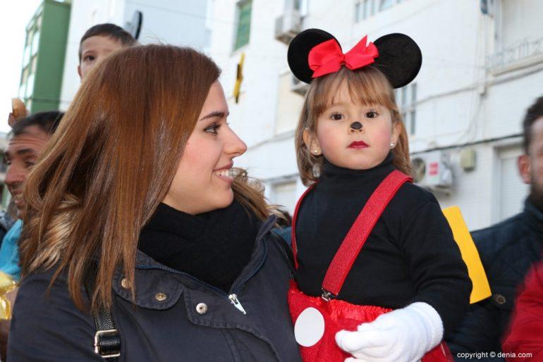 Carnaval infantil Dénia 2018 - Minnie
