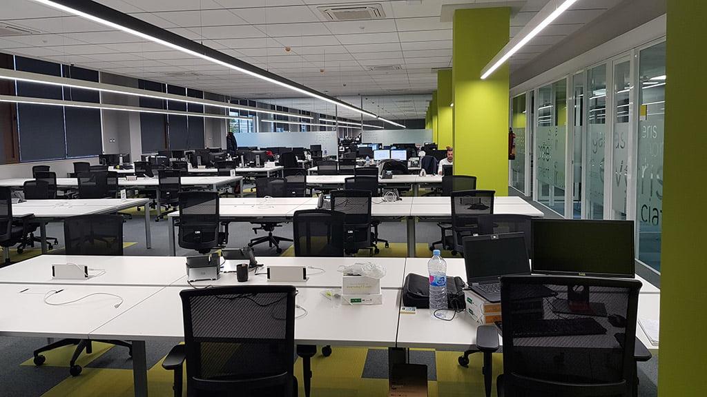 Nuevas oficinas en alicante fernando moll d for Oficinas seur alicante