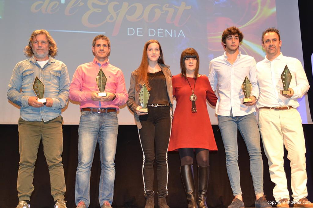Premiados por la Concejalía de Deportes