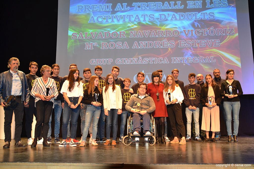 Premiados por las Escuelas Deportivas Municipales