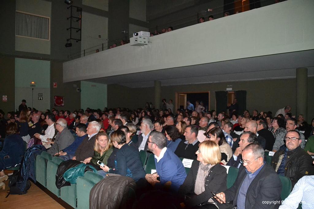 Público asistente a la Gala del Deporte