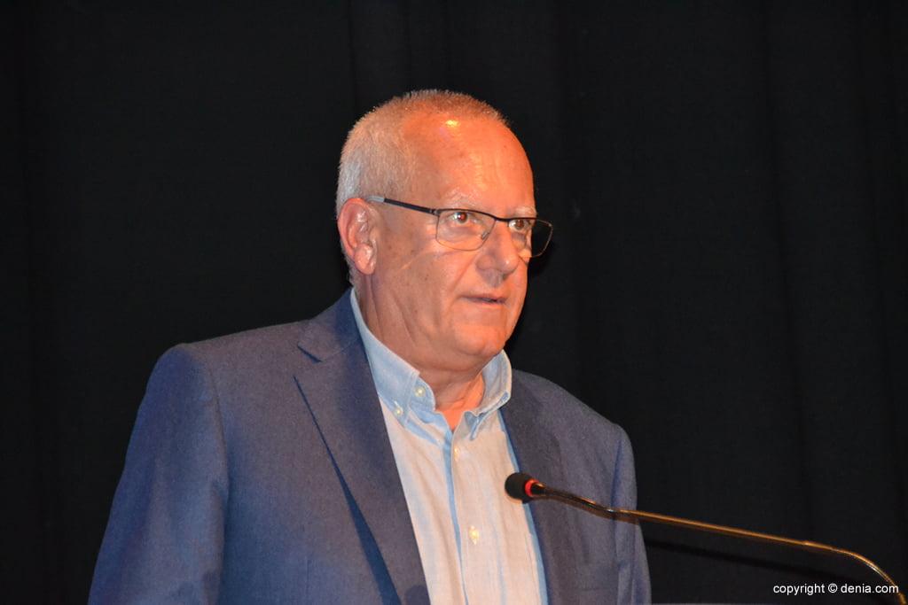 Vicent Grimalt en su discurso
