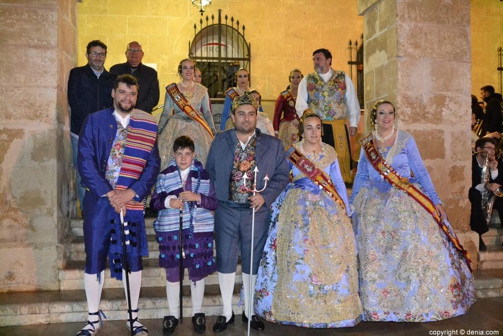 Nous presidents per a les falles 2019 - Paco Blanquer - Baix la Mar