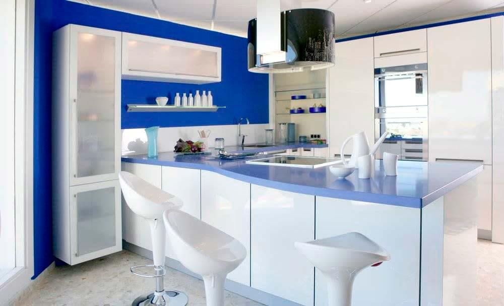Cocina azul Hermanos Camino