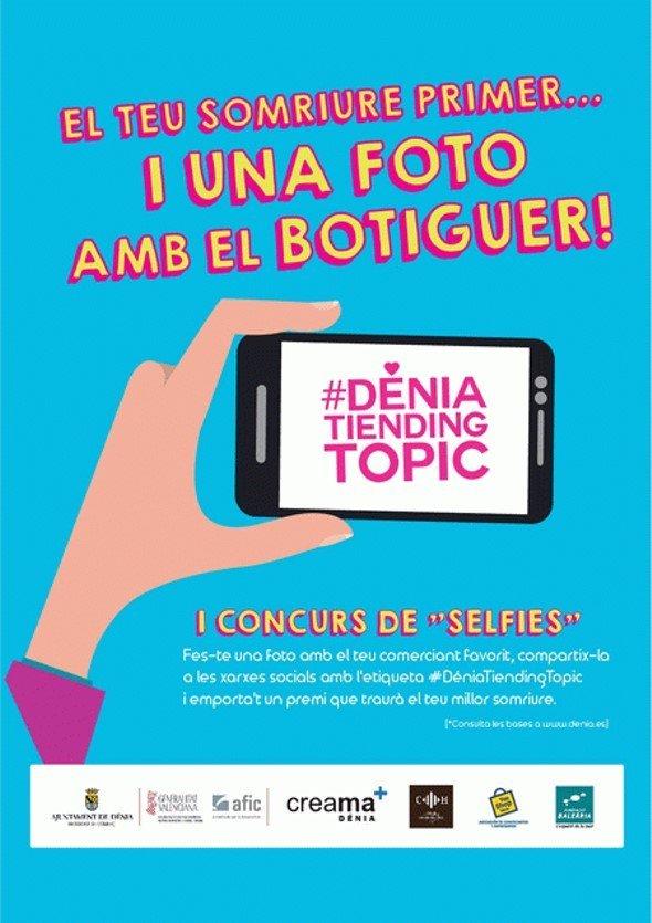 Concurso de selfis en las tiendas de Dénia
