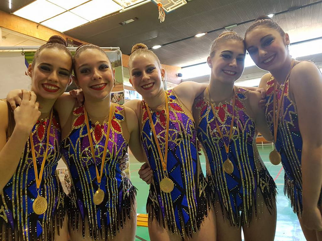 conjunto juvenil club denia campeón provincial