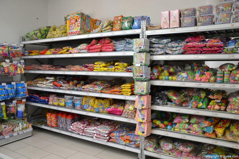 Puga Cash & Carry Jávea bonbons