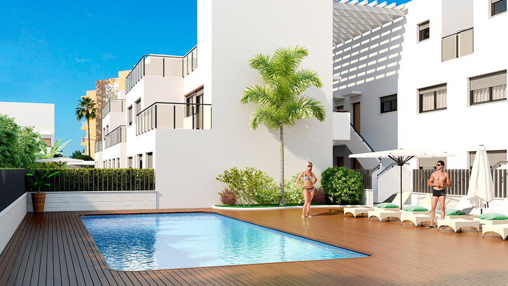 Piscina residencial tierra marina d for Piscina residencial