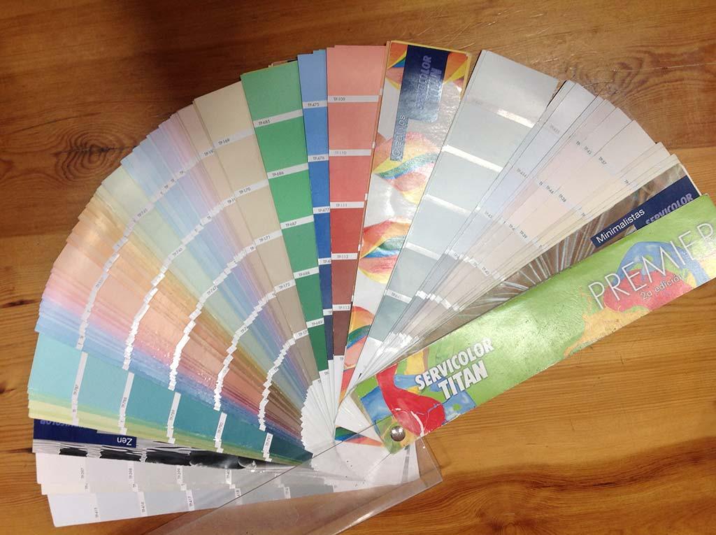 Servicolor gama pinturas bumar d for Pinturas gamacolor