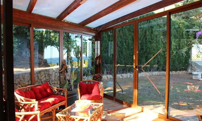 Terrazza vetrata Stirling Ackroyd Spagna
