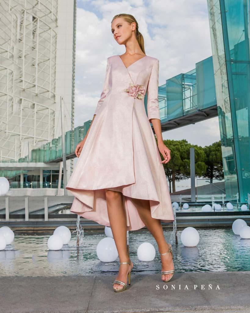 more photos 47309 5d7eb Abito in elegante rosa Kabah Boutique - Dénia.com