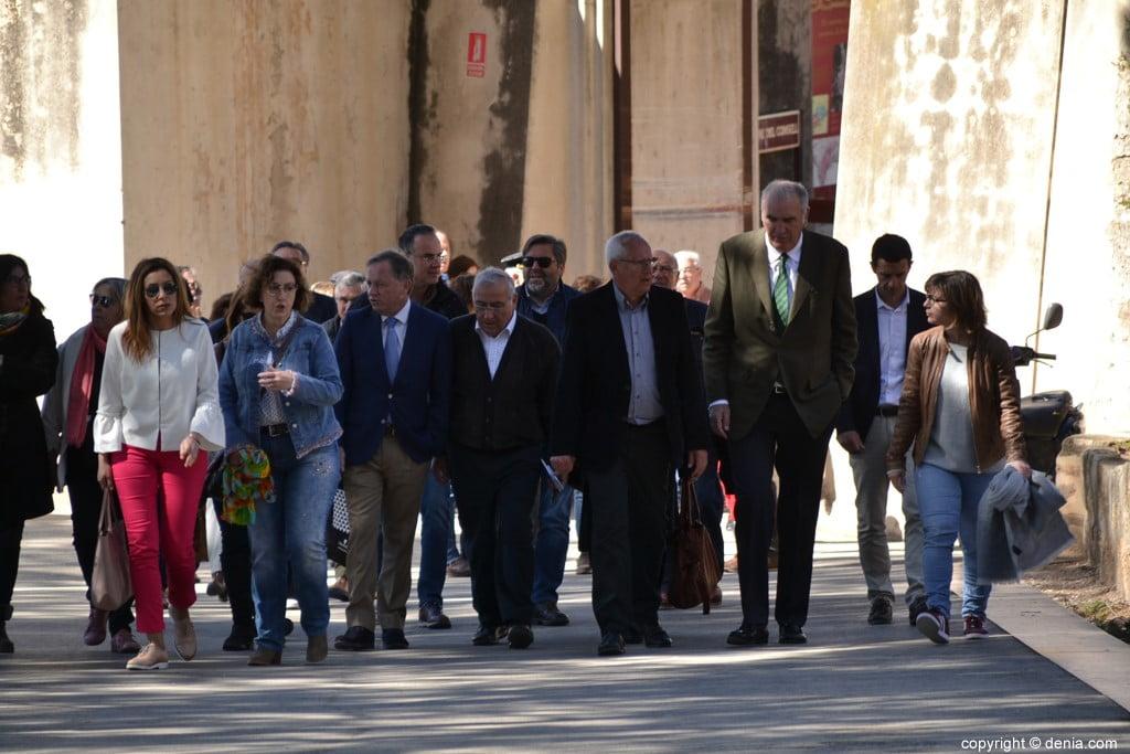 Inauguració de l'escala del Duc de Lerma - Pujada al Castell