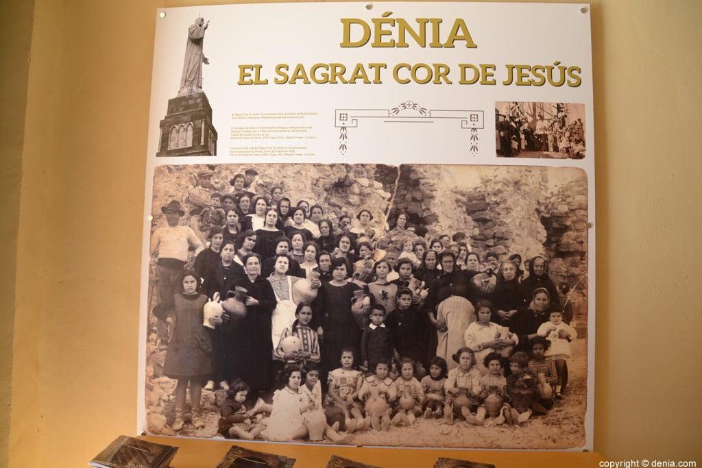 Inauguració de l'escala del Duc de Lerma - Recordo al Sagrat Cor